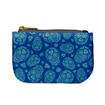 Sugar Skulls - Baby Blue Coin Change Purse