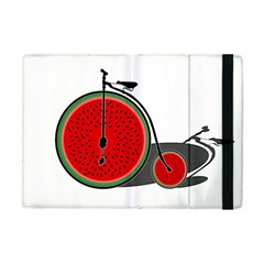 Watermelon Bicycle  Apple Ipad Mini Flip Case by Valentinaart