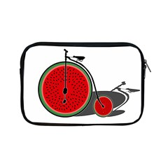 Watermelon Bicycle  Apple Ipad Mini Zipper Cases by Valentinaart