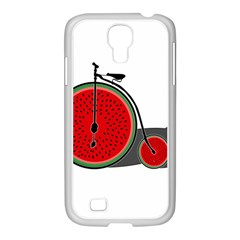 Watermelon Bicycle  Samsung Galaxy S4 I9500/ I9505 Case (white)