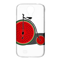 Watermelon Bicycle  Samsung Galaxy S4 Classic Hardshell Case (pc+silicone) by Valentinaart