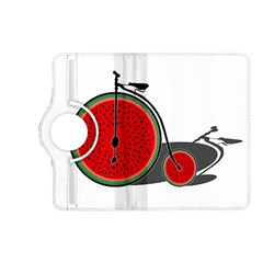 Watermelon Bicycle  Kindle Fire Hd (2013) Flip 360 Case by Valentinaart