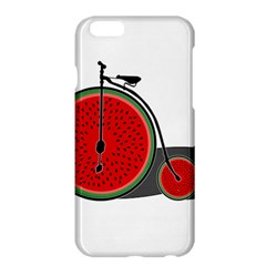 Watermelon Bicycle  Apple Iphone 6 Plus/6s Plus Hardshell Case by Valentinaart