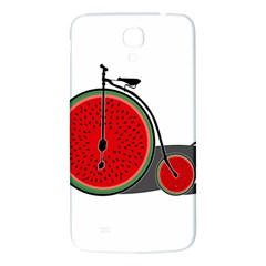 Watermelon Bicycle  Samsung Galaxy Mega I9200 Hardshell Back Case by Valentinaart