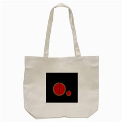 Watermelon Bicycle  Tote Bag (cream) by Valentinaart