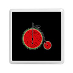 Watermelon Bicycle  Memory Card Reader (square)  by Valentinaart