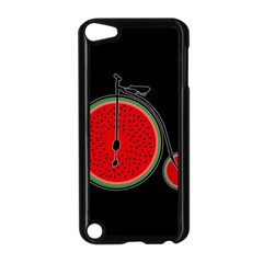 Watermelon Bicycle  Apple Ipod Touch 5 Case (black) by Valentinaart