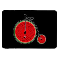 Watermelon Bicycle  Samsung Galaxy Tab 8 9  P7300 Flip Case by Valentinaart