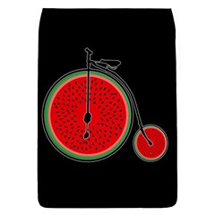 Watermelon Bicycle  Flap Covers (s)  by Valentinaart