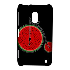 Watermelon Bicycle  Nokia Lumia 620 by Valentinaart