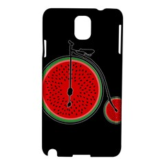 Watermelon Bicycle  Samsung Galaxy Note 3 N9005 Hardshell Case by Valentinaart