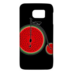 Watermelon Bicycle  Galaxy S6 by Valentinaart