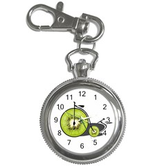 Kiwi Bicycle  Key Chain Watches by Valentinaart