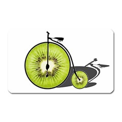 Kiwi Bicycle  Magnet (rectangular) by Valentinaart
