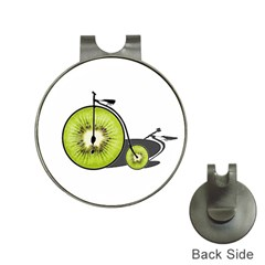 Kiwi Bicycle  Hat Clips With Golf Markers by Valentinaart