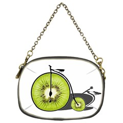 Kiwi Bicycle  Chain Purses (two Sides)  by Valentinaart