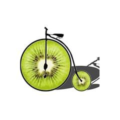Kiwi Bicycle  5 5  X 8 5  Notebooks by Valentinaart