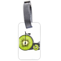 Kiwi Bicycle  Luggage Tags (one Side)  by Valentinaart
