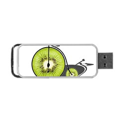 Kiwi Bicycle  Portable Usb Flash (two Sides) by Valentinaart
