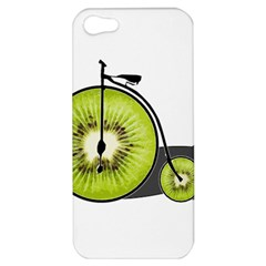 Kiwi Bicycle  Apple Iphone 5 Hardshell Case by Valentinaart