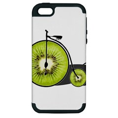 Kiwi Bicycle  Apple Iphone 5 Hardshell Case (pc+silicone) by Valentinaart