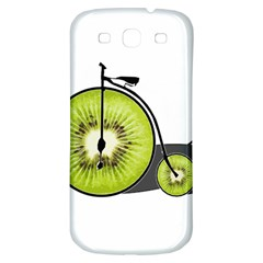 Kiwi Bicycle  Samsung Galaxy S3 S Iii Classic Hardshell Back Case by Valentinaart