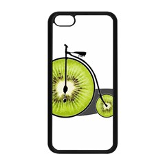 Kiwi Bicycle  Apple Iphone 5c Seamless Case (black) by Valentinaart