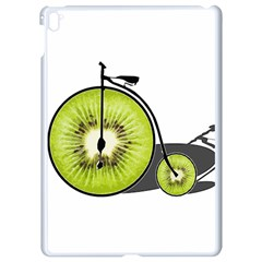 Kiwi Bicycle  Apple Ipad Pro 9 7   White Seamless Case by Valentinaart