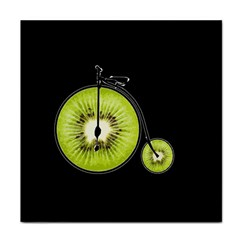 Kiwi Bicycle  Face Towel by Valentinaart