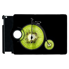 Kiwi Bicycle  Apple Ipad 3/4 Flip 360 Case by Valentinaart