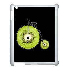 Kiwi Bicycle  Apple Ipad 3/4 Case (white) by Valentinaart