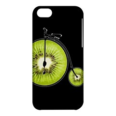 Kiwi Bicycle  Apple Iphone 5c Hardshell Case by Valentinaart