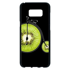 Kiwi Bicycle  Samsung Galaxy S8 Plus Black Seamless Case by Valentinaart