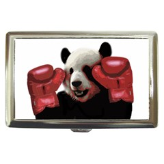 Boxing Panda  Cigarette Money Cases by Valentinaart