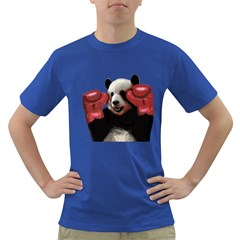 Boxing Panda  Dark T Shirt by Valentinaart