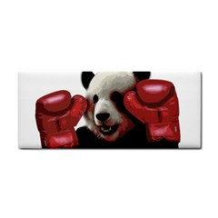 Boxing Panda  Cosmetic Storage Cases by Valentinaart