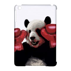 Boxing Panda  Apple Ipad Mini Hardshell Case (compatible With Smart Cover) by Valentinaart