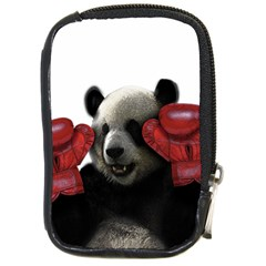 Boxing Panda  Compact Camera Cases by Valentinaart