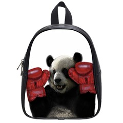 Boxing Panda  School Bags (small)
