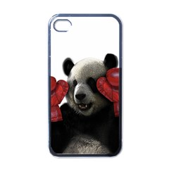 Boxing Panda  Apple Iphone 4 Case (black) by Valentinaart