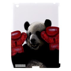 Boxing Panda  Apple Ipad 3/4 Hardshell Case (compatible With Smart Cover) by Valentinaart