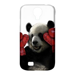 Boxing Panda  Samsung Galaxy S4 Classic Hardshell Case (pc+silicone) by Valentinaart