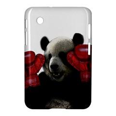 Boxing Panda  Samsung Galaxy Tab 2 (7 ) P3100 Hardshell Case  by Valentinaart