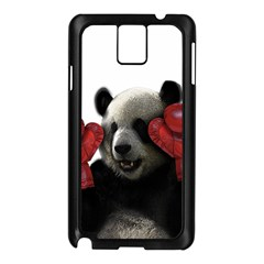 Boxing Panda  Samsung Galaxy Note 3 N9005 Case (black) by Valentinaart
