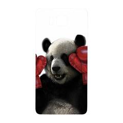 Boxing Panda  Samsung Galaxy Alpha Hardshell Back Case by Valentinaart