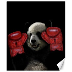 Boxing Panda  Canvas 20  X 24   by Valentinaart