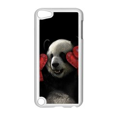 Boxing Panda  Apple Ipod Touch 5 Case (white) by Valentinaart