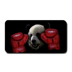 Boxing Panda  Medium Bar Mats by Valentinaart