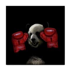 Boxing Panda  Face Towel by Valentinaart
