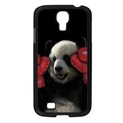 Boxing Panda  Samsung Galaxy S4 I9500/ I9505 Case (black) by Valentinaart